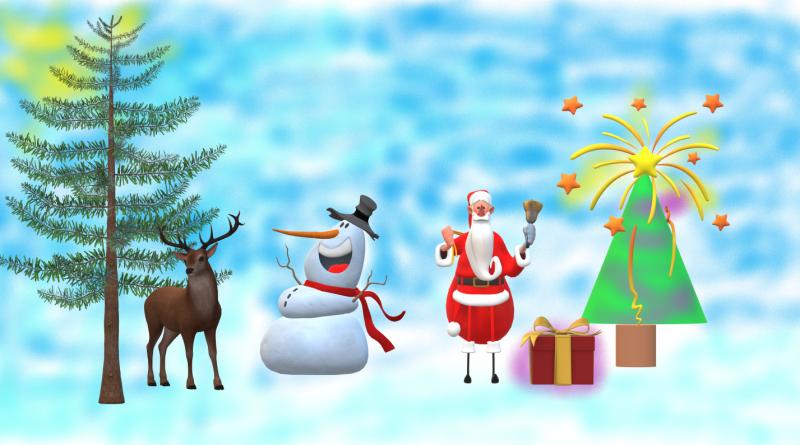 Коледен поздрав от най-малките ни ученици